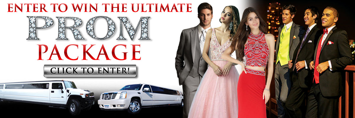Enter to Win the Ultimate Prom Package from Russo Tux, Dress & Limousine!