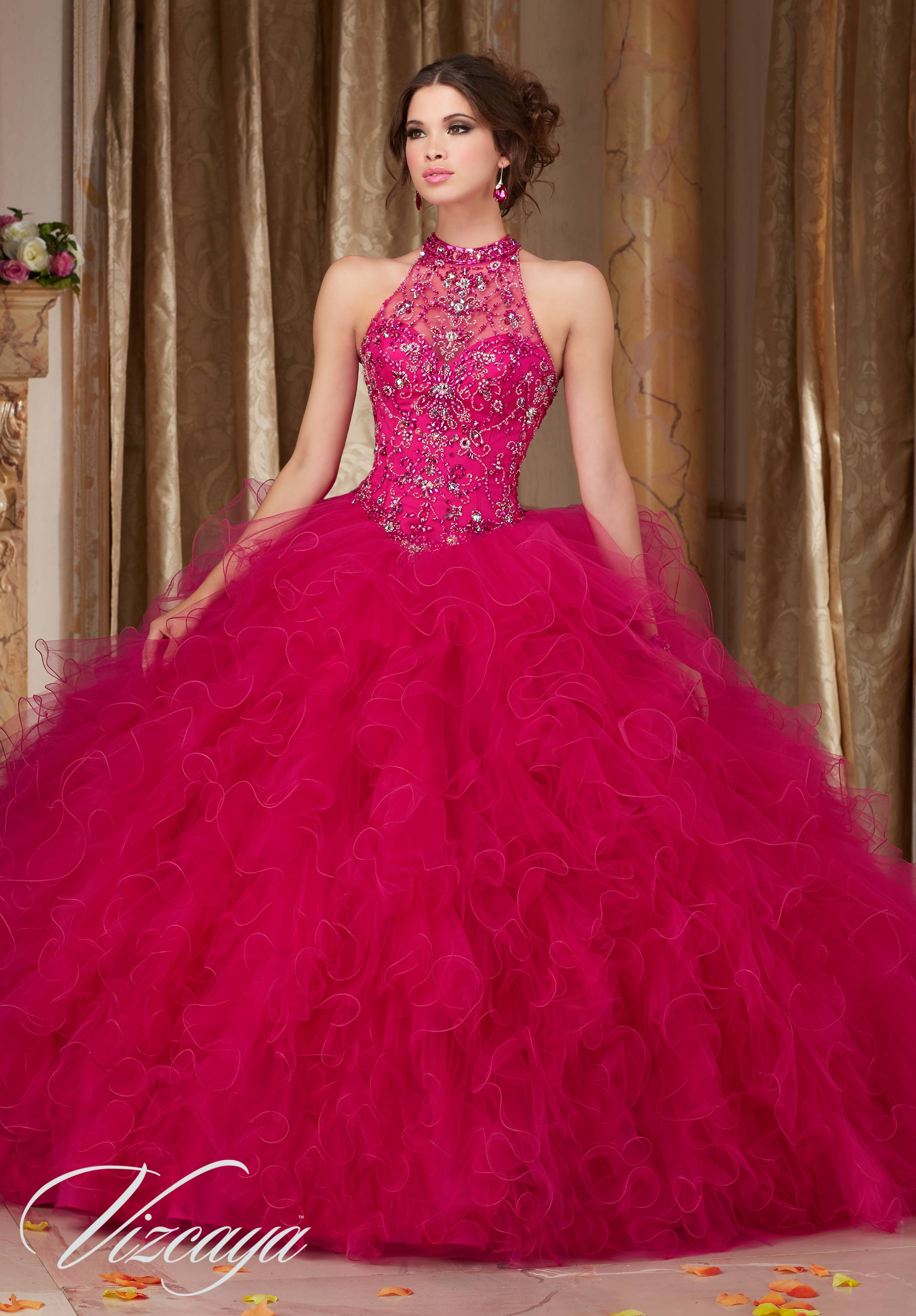 e32fd4abed5 Home   Quinceanera Dresses   Vizcaya Collection ...