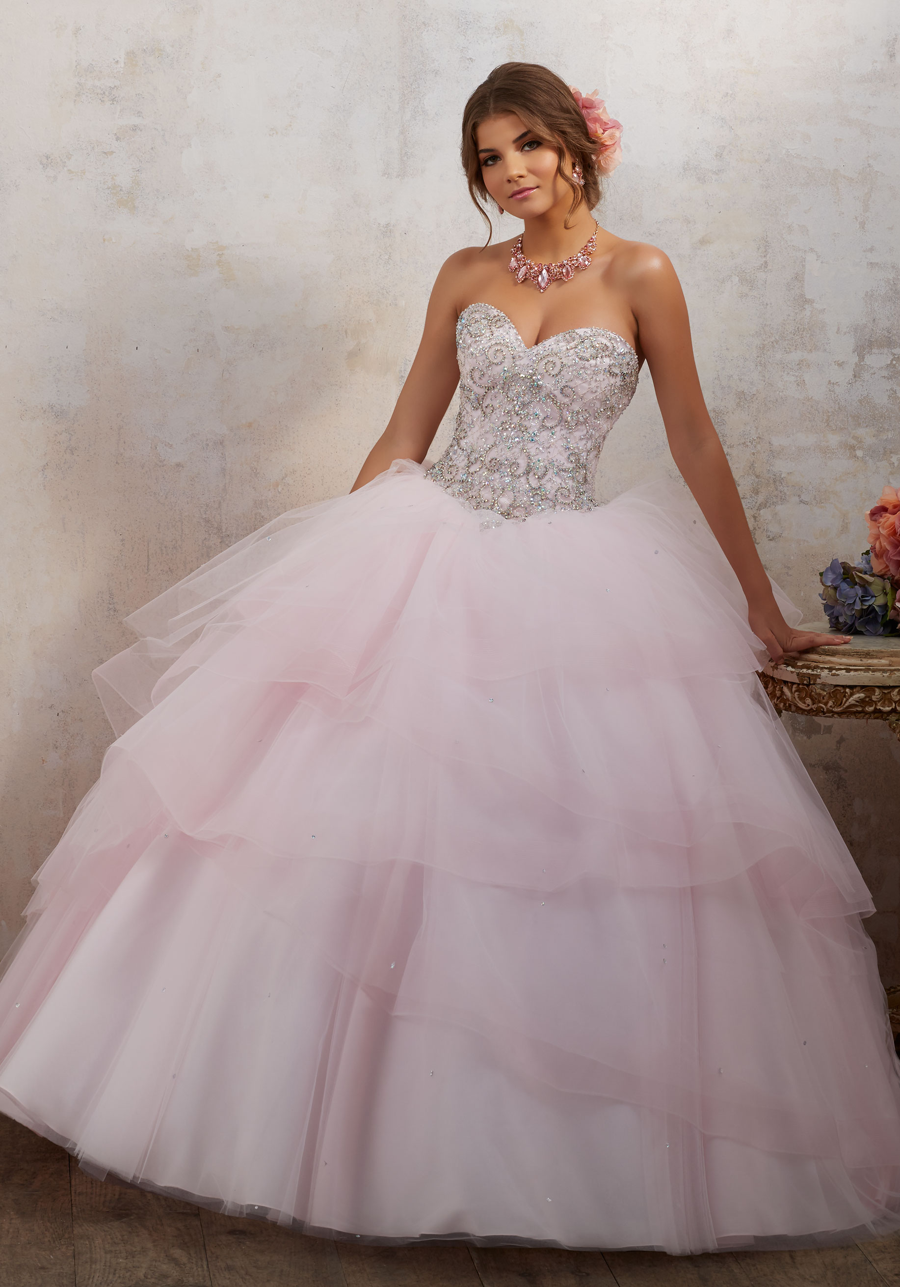 f276595fed4f Cheap Pink Quinceanera Dresses - PostParc