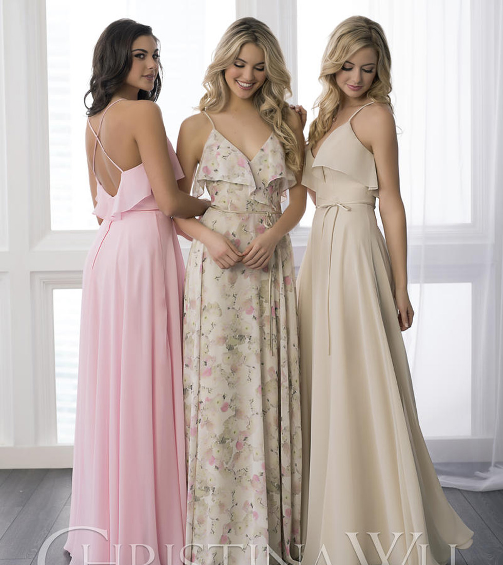 Best Bridesmaid Dress Selection Boston MA